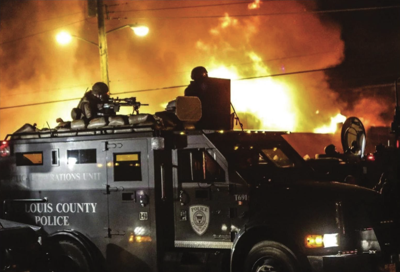 Ferguson, St. Louis Count police, and fire