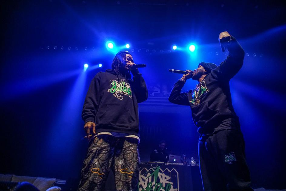 Curren$y and Wiz deliver kickback smoke session concert combo