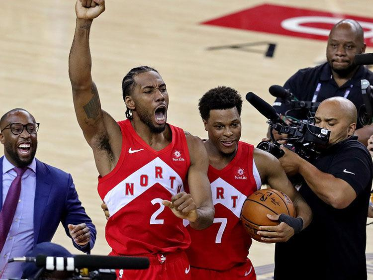 The Claw carries Raptors to first championship; Free Ujiri