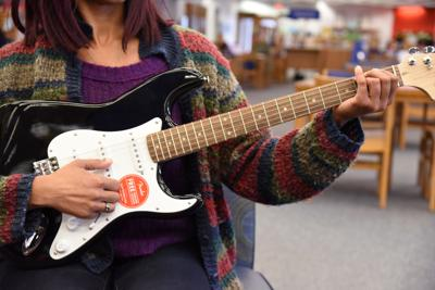 County Library adds electric guitars, keyboards, djembes to lending program