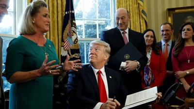 U.S. Rep. Ann Wagner and President Donald Trump