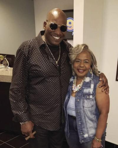 """Don """"DC"""" Curry and Mama Jackie"""