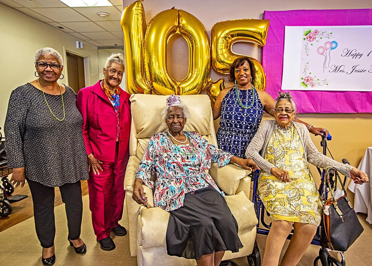 Miss Jessie turns 105