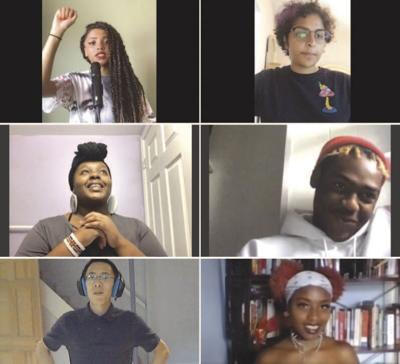 UrbArts Organization's youth poetry slam team
