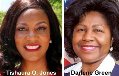 Tishaura O. Jones and Darlene Green