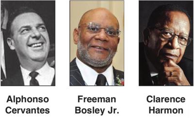Cervante, Bosley Jr. and Harmon