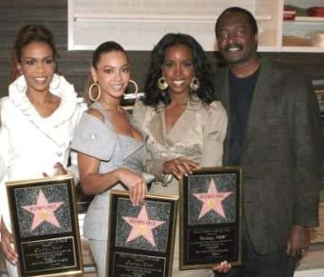 Mathew Knowles and Destiny's Child