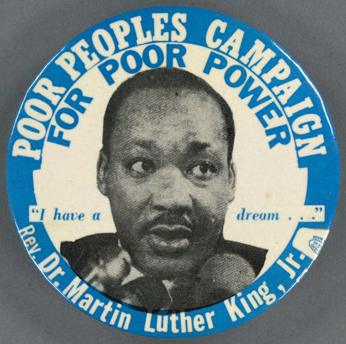 Dr. Martin Luther King Poor's people's campaign
