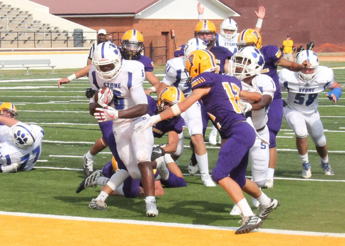 Carlos Brown scores first of six touchdowns