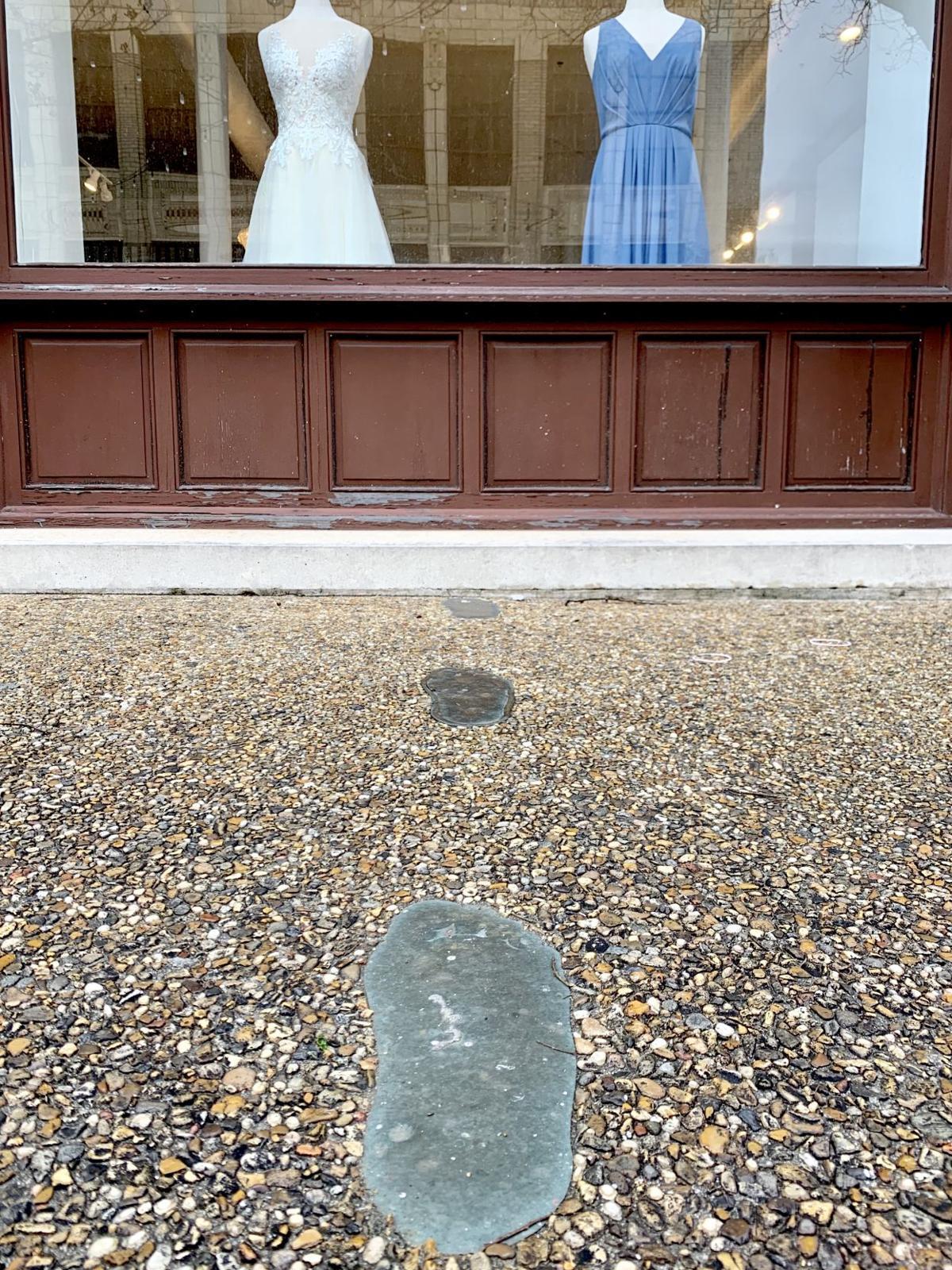 J. W. Fairley's footprints