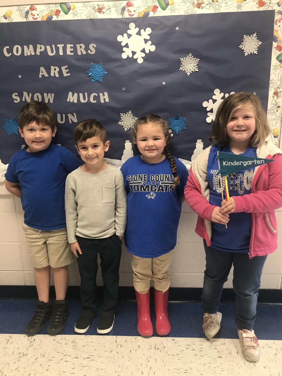 Perkinston Elementary Kindergarten Students of the Month for November 2019