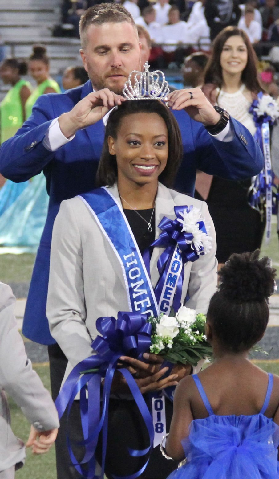 Kaja James crowned as Stone High Homecoming Queen 2018