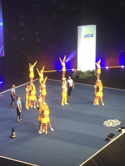 MGCCC Cheer team finishes 6th at nationals