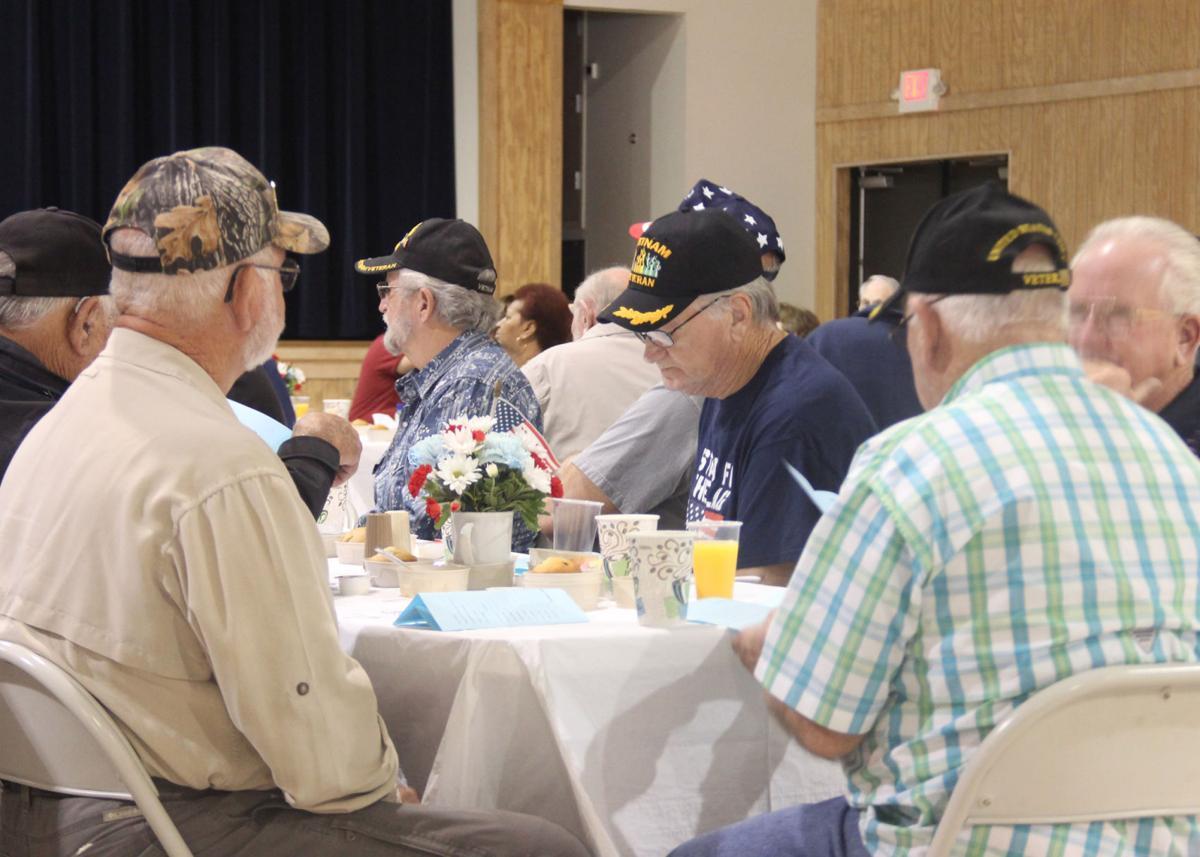 Veterans enjoy breakfast and presentations