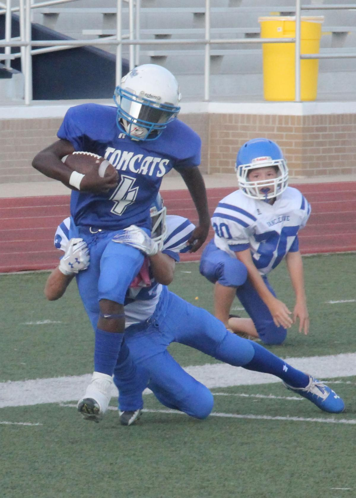 SMS Tomcats fall to Vancleave