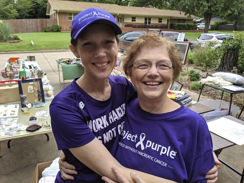 Stillwater garage sale raises funds for pancreatic cancer research