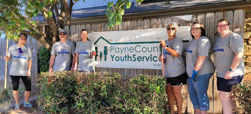 Nearly 500 volunteers pitch in for United Way of Payne County's Day of Caring