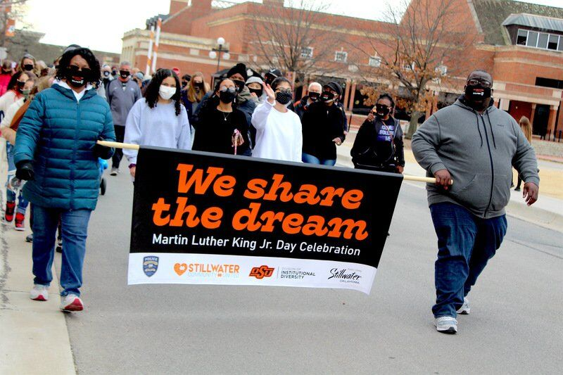 Sharing the Dream: Stillwater strives for unity on Martin Luther King Jr. Day