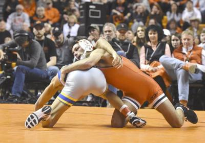 Piccininni becomes 44th Cowboy wrestler to earn 100 career wins