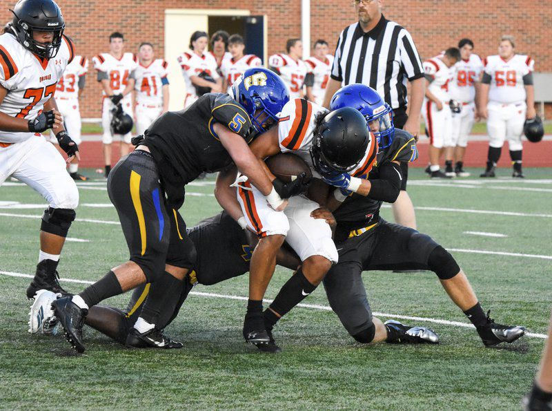 Pioneer offense scores easily, often during opening scrimmage