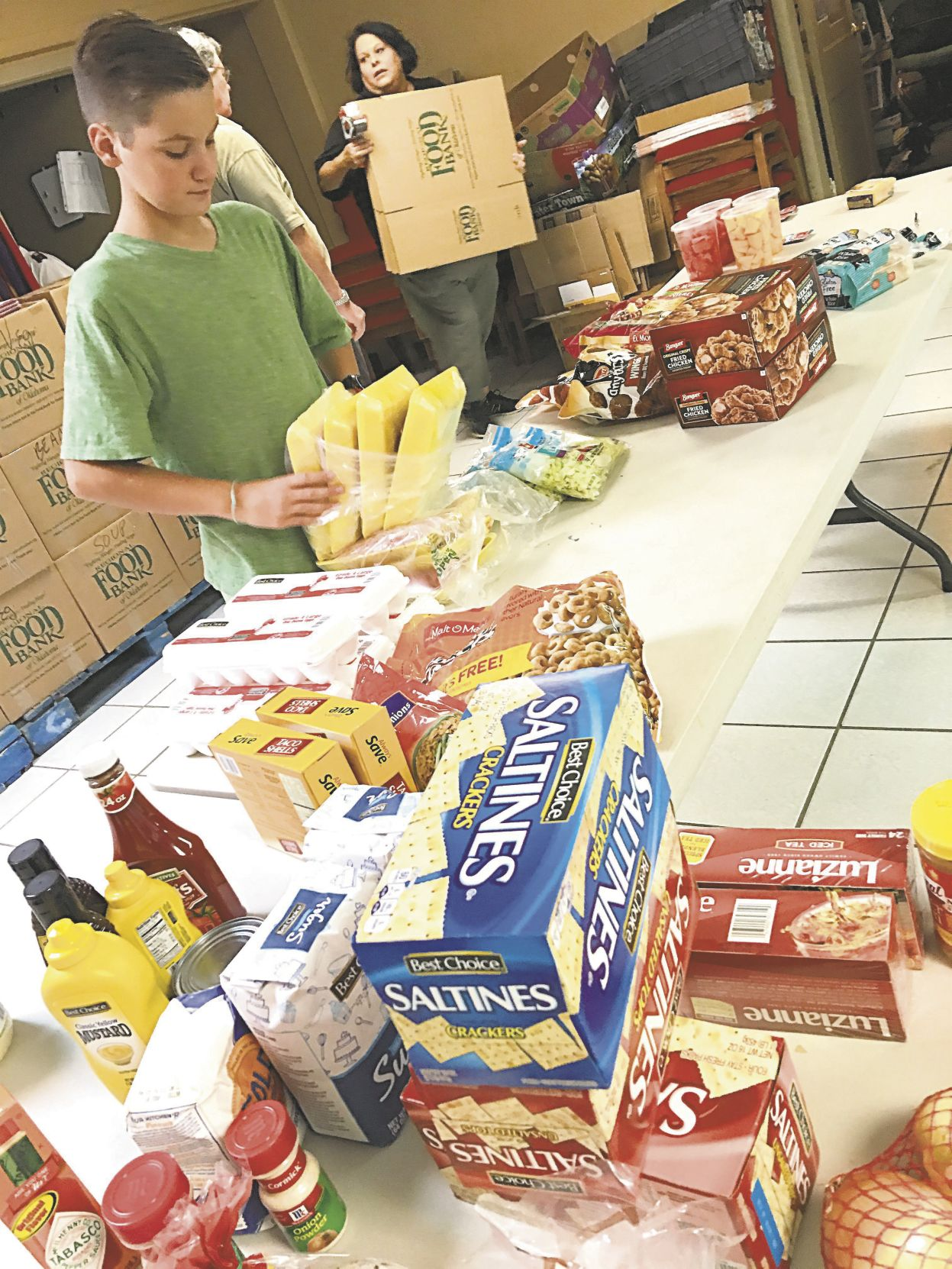 Stillwater Salvation Army takes food pantry on the road News