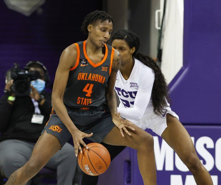 Mack's triple-double leads Cowgirls to blowout road victory