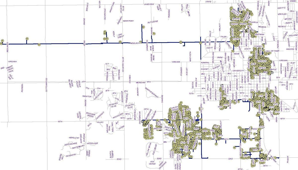 Stillwater curtailment map