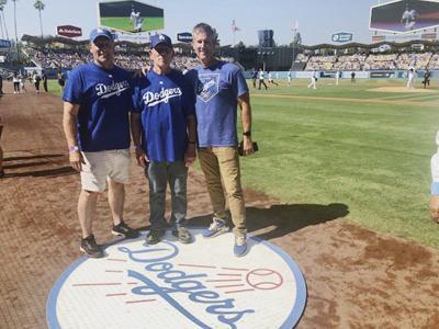 Stillwater dad receives Father's Day surprise in first trip to Dodger Stadium