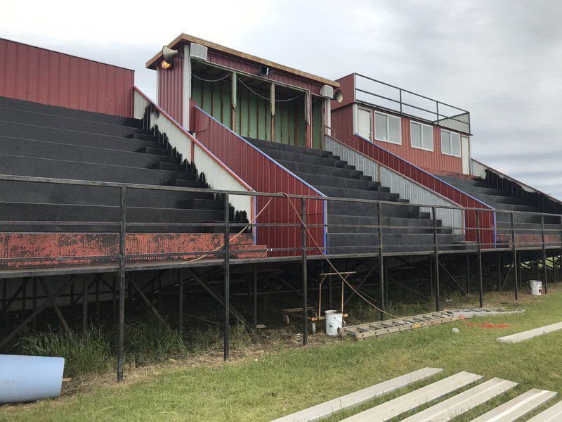 Morrison High upgrading football, softball facilities