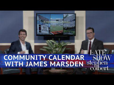 Stillwater, Oklahoma's Community Calendar With James Marsden | |  stwnewspress.com