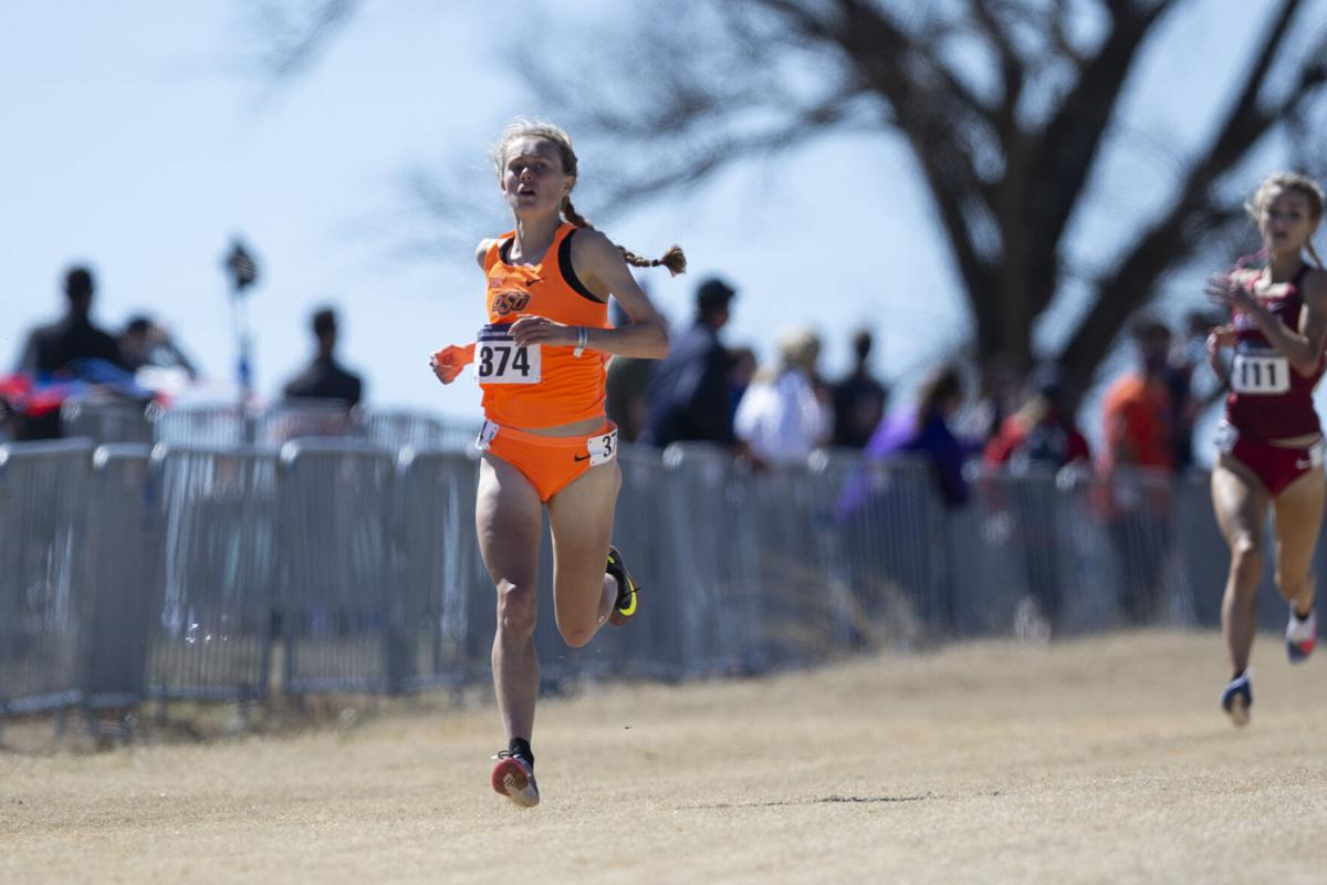 2021 NCAA Cross Country National Championship, Monday, March 15, 2021, Oklahoma State University Cross Country Course, Stillwater, OK. Bruce Waterfield/OSU Athletics