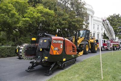 Ditch Witch represents Oklahoma at Trump's Made-in-America presentation