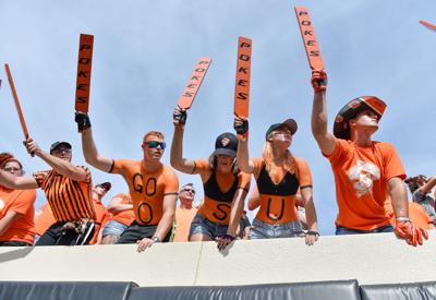 Oklahoma State Eyed For Live Mas Student Section Of The Year