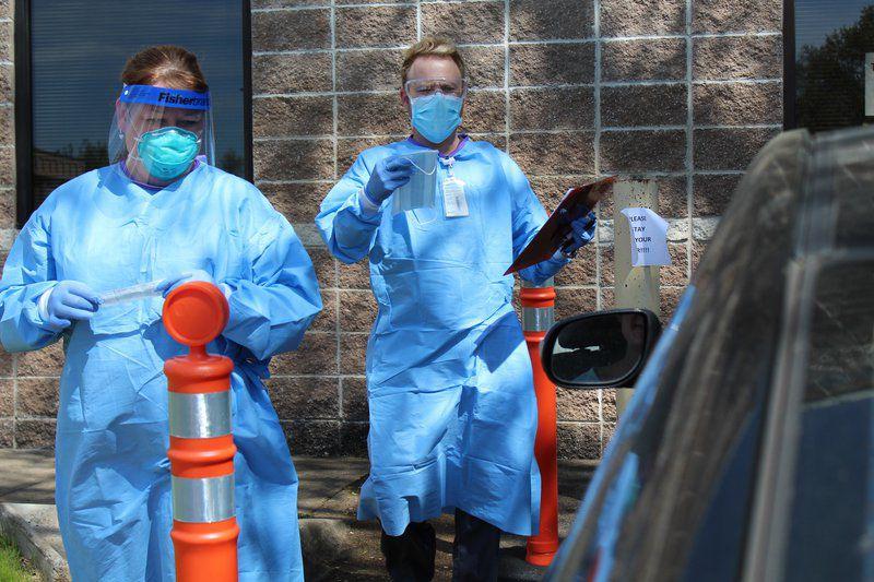 Health Department begins curbside COVID-19 testing