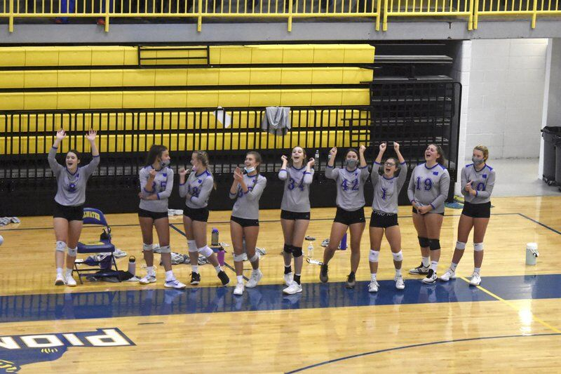 Lady Pioneers struggle in four-set loss to Norman
