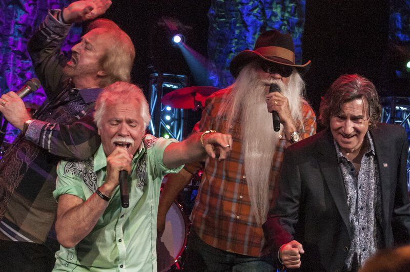 Oak Ridge Boys bass singer Richard Sterban still gets a kick out of being the 'oom poppa, mow mow' guy