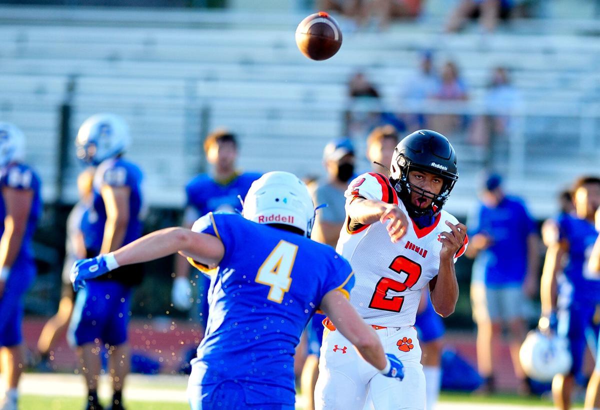 Norman High v Stillwater Football scrimmage