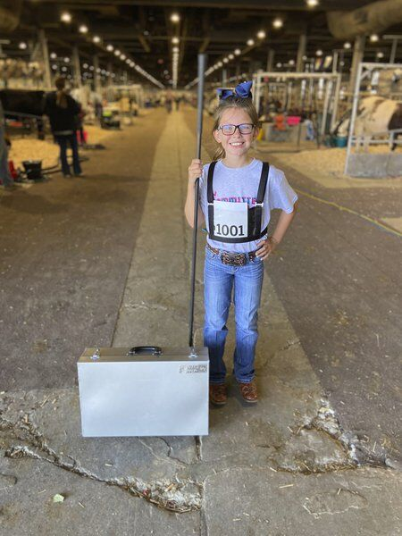 Kennedy Arthurmakes winninglivestock shows a family tradition