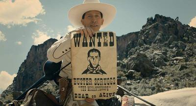 """""""Ballad of Buster Scruggs"""" sings inconsistent but fine tune"""