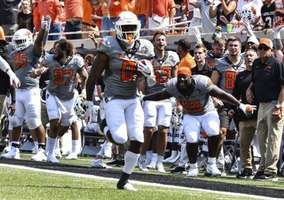 Gundy: Martin will be back when pain subsides; Brown got scoped and out a while