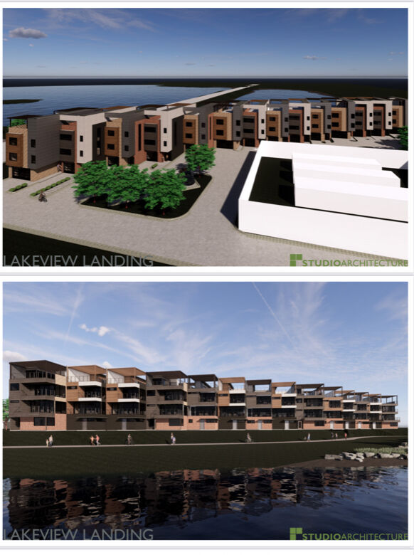Lakeview Landing townhomes