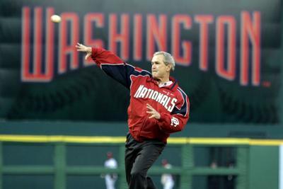 Presidents and Baseball