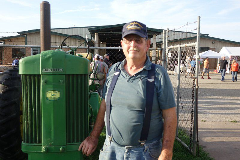 Collectors preserve tractor history with Fair parade
