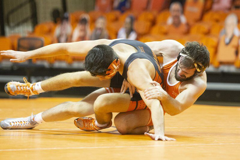 Stillwater product Nieman earns spot in lineup for Cowboy wrestling