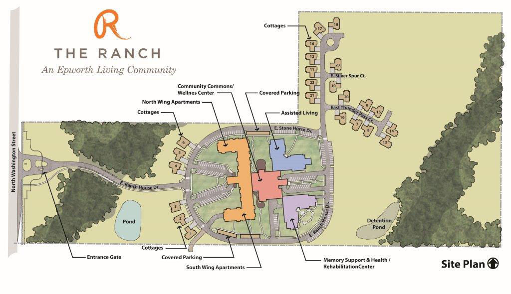 The Ranch layout