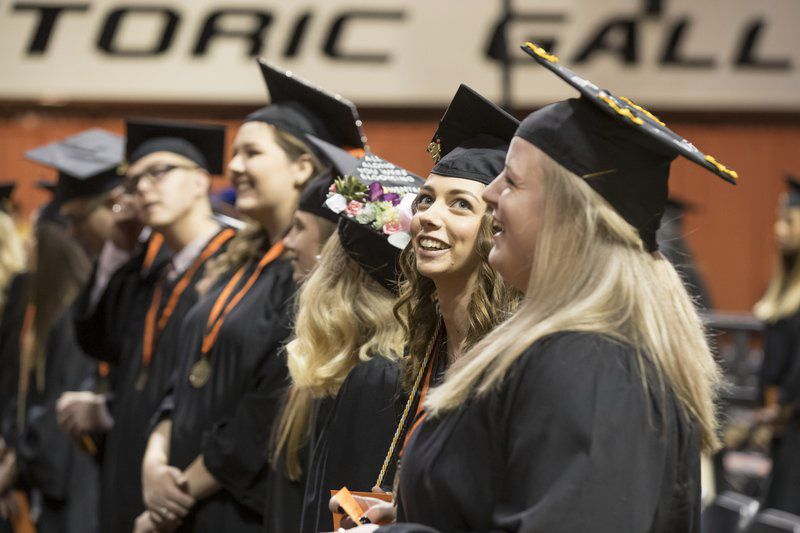 Gov. Stitt delivers his first OSU commencement address