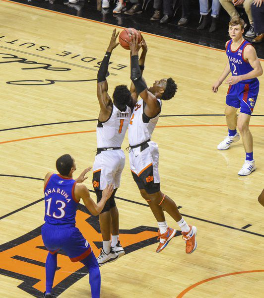Jayhawks rout Cowboys; OSU remains winless in conference