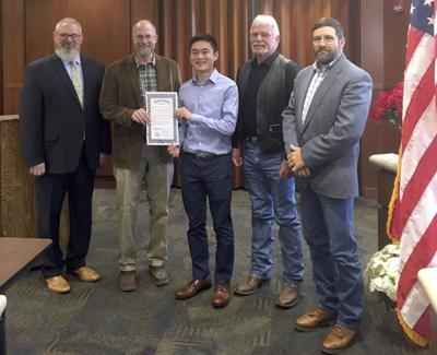 Commissioners declare 'Nicco Wang Day' in Payne County