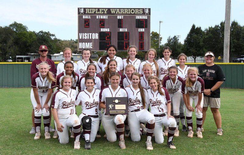 Morrison makes history, Ripley advances to Class A softball tournament