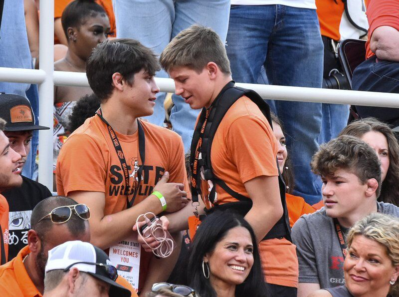 'Out there to win': Stillwater High junior Cael Hughes talks college recruiting, recent visit to OSU